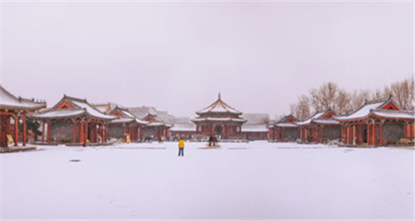 Snow turns Shenyang Imperial Palace Museum into fairytale land