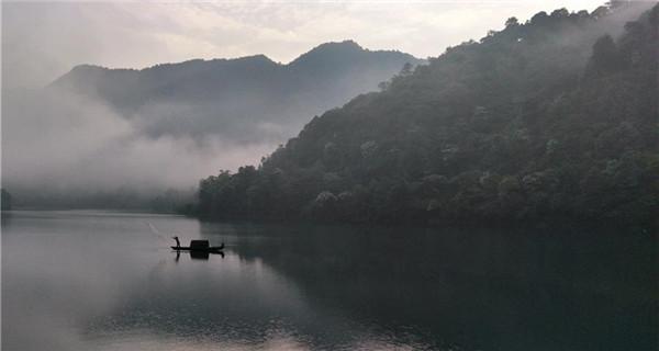 Dongjiang Lake in Hunan