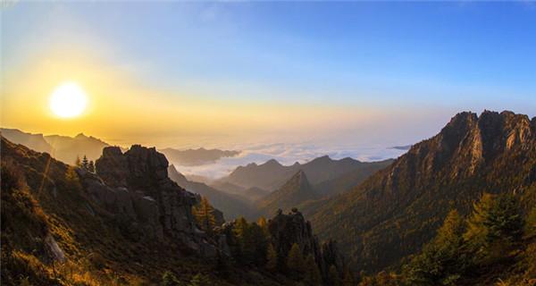 Breathtaking Luya Mountain in Shanxi