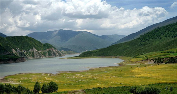 Scenic spots in NW China