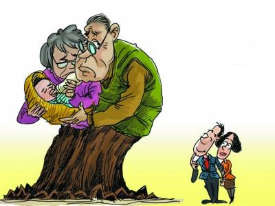 More cons than pros: grandparents raising our kids _ Qiushi
