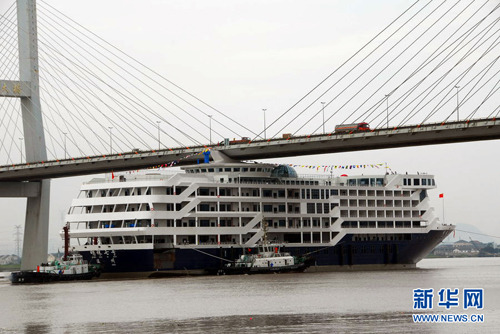 Bridge Clips Off Chimneys Of Cruise Ship Headlines Features - Cruise ship damaged