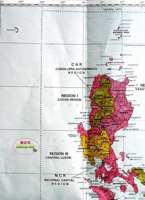 Ten Questions Regarding Huangyan Island Headlines Features - Huangyan map