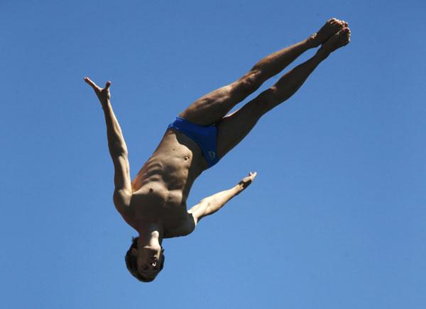 High diving at the 2013 World Aquatics Championships
