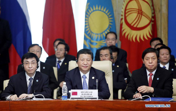 Chinese president raises proposal on SCO cooperation