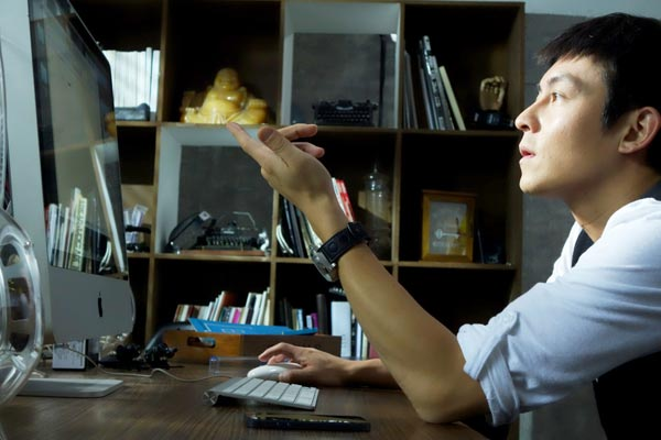 Edison Chen stars in Blind Spot, which is directed by Danny Pang and broadcast on v.qq.com. Provided to China Daily
