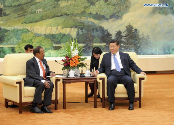 Chinese president meets Indian PM