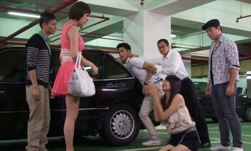 Wife stamps on husbands pregnant mistress in China