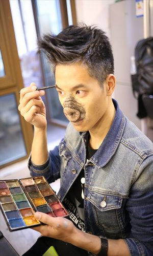 special effects makeup can transform you into a zombie or even a pig photo