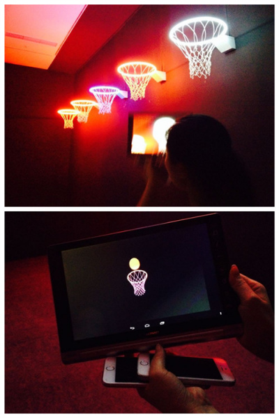 Augmented reality enables people to see beyond the exhibiting objects. (Photo: Ecns.cn/Qian Ruisha)