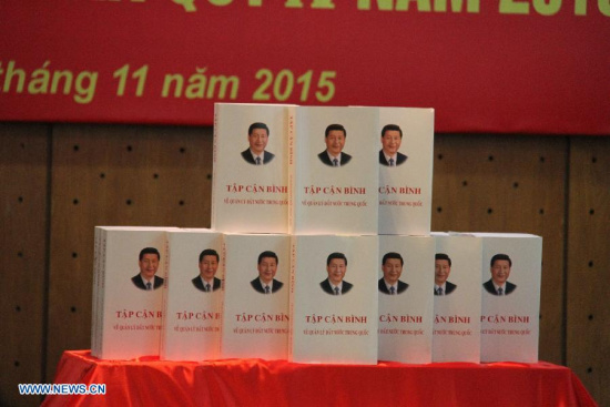 Vietnamese edition of book of Xi on governance launched in Hanoi