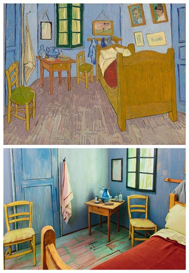 Van Gogh S Bedroom Recreated For Airbnb Apartment
