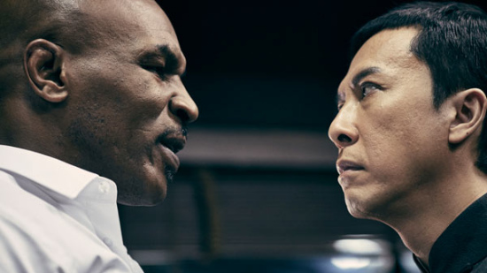 Mike Tyson and Donnie Yen star in