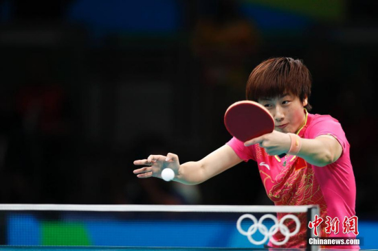 Ding Ning completes Grand Slam request with Olympic gold of singles