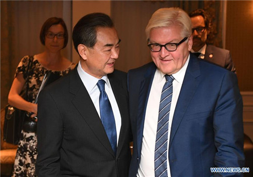 Beijing ready to coordinate with Berlin on trade: Chinese FM
