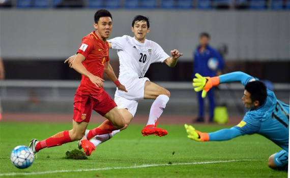 China announces squad for final round of 2018 World Cup Asian qualifiers
