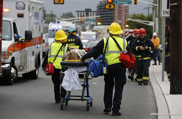 One Chinese injured in New Jersey train accident