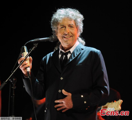 Bob Dylan performs onstage during the 17th Annual Critics' Choice Movie Awards at The Hollywood Palladium in Los Angeles, California, January 12, 2012. (Photo/Agencies)