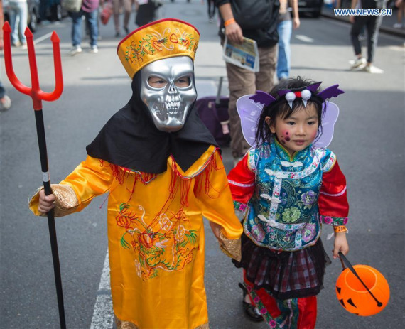 is halloween gaining popularity in china