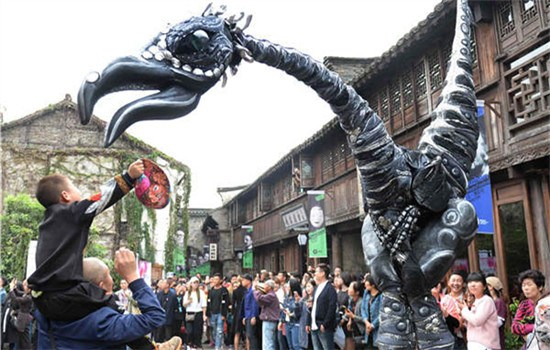 Theater festival turns Wuzhen into stage