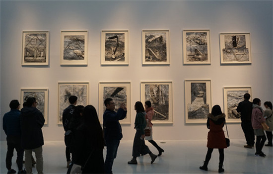 The show Anselm Kiefer in China comes into media spotlight even before its opening on Saturday, because the German artist whose works are on show, accused the organizers of excluding him from the process. CHEN YAN/CHINA DAILY)
