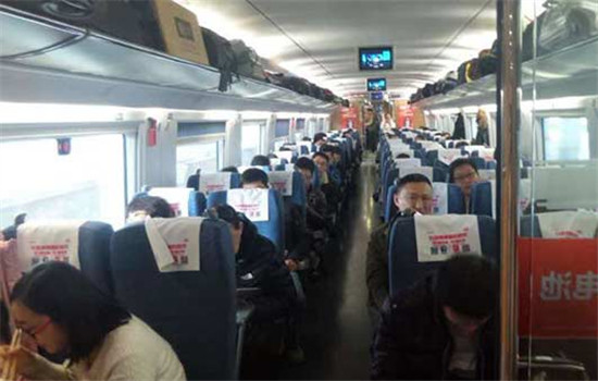 Passengers are in a stable mood, although train services were halted by an explosion that happened near the rail line in Shandong province Tuesday morning.