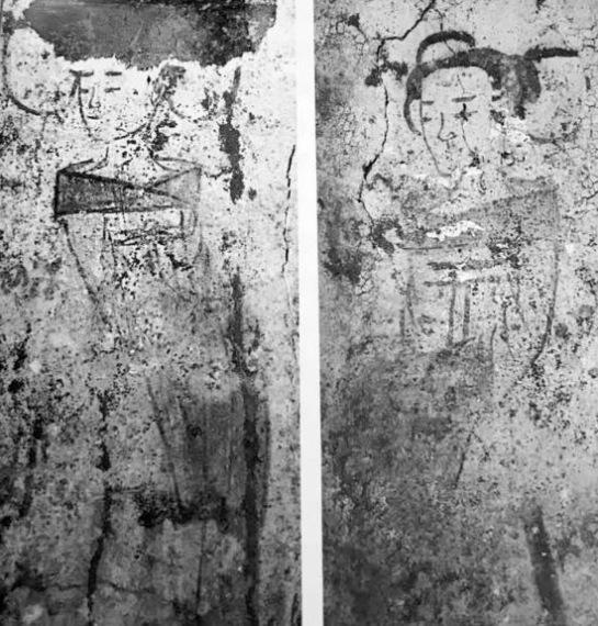 фрески, Китай,