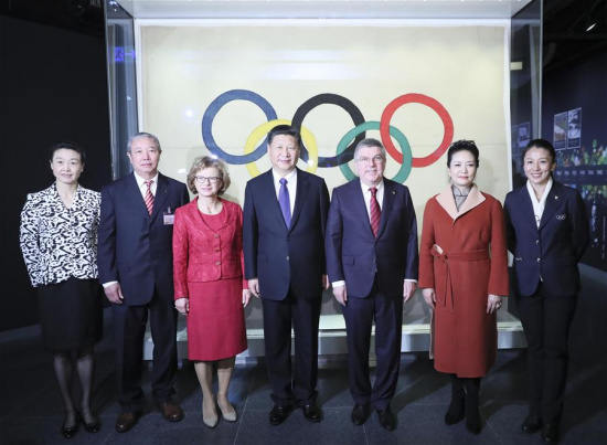 Xi meets IOC president