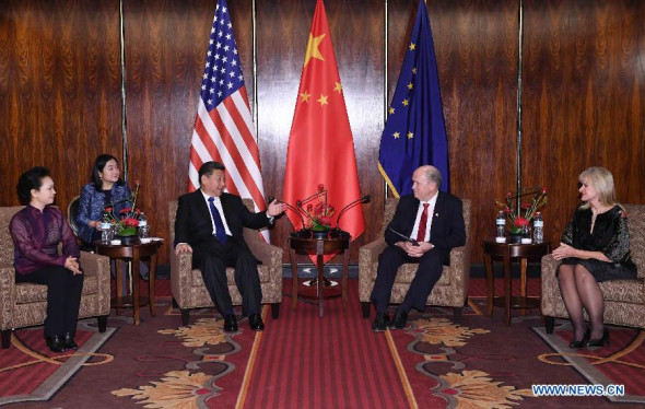Xi meets Alaskan governor, urges more regional cooperation