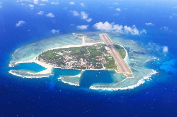 File Photo of Yongxing Island, home to the government of Sansha, China's southernmost city. (Photo/Xinhua)