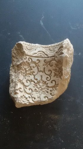 A hulufan fragment (Photo/Courtesy of the Beijing Municipal Administration of Cultural Heritage)