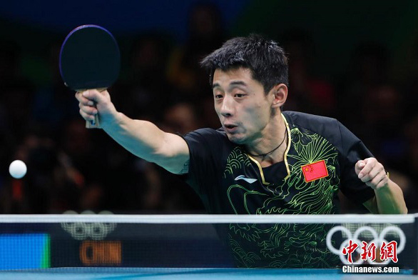 Reality bites for table tennis star Zhang