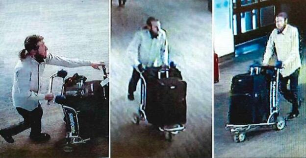 Surveillance photo of possible suspect in case of Red Panda's missing unicycle. Provided to chinadaily.com.cn