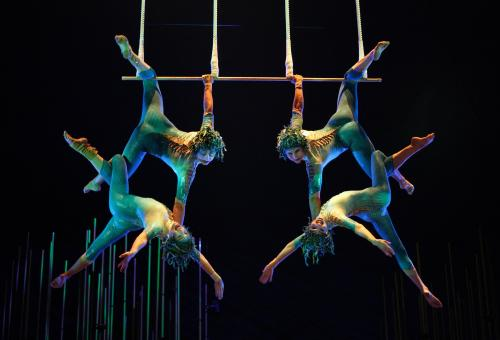 Cirque du Soleil eyes potential market in China