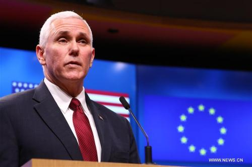 Pence heads to Asia with stern message