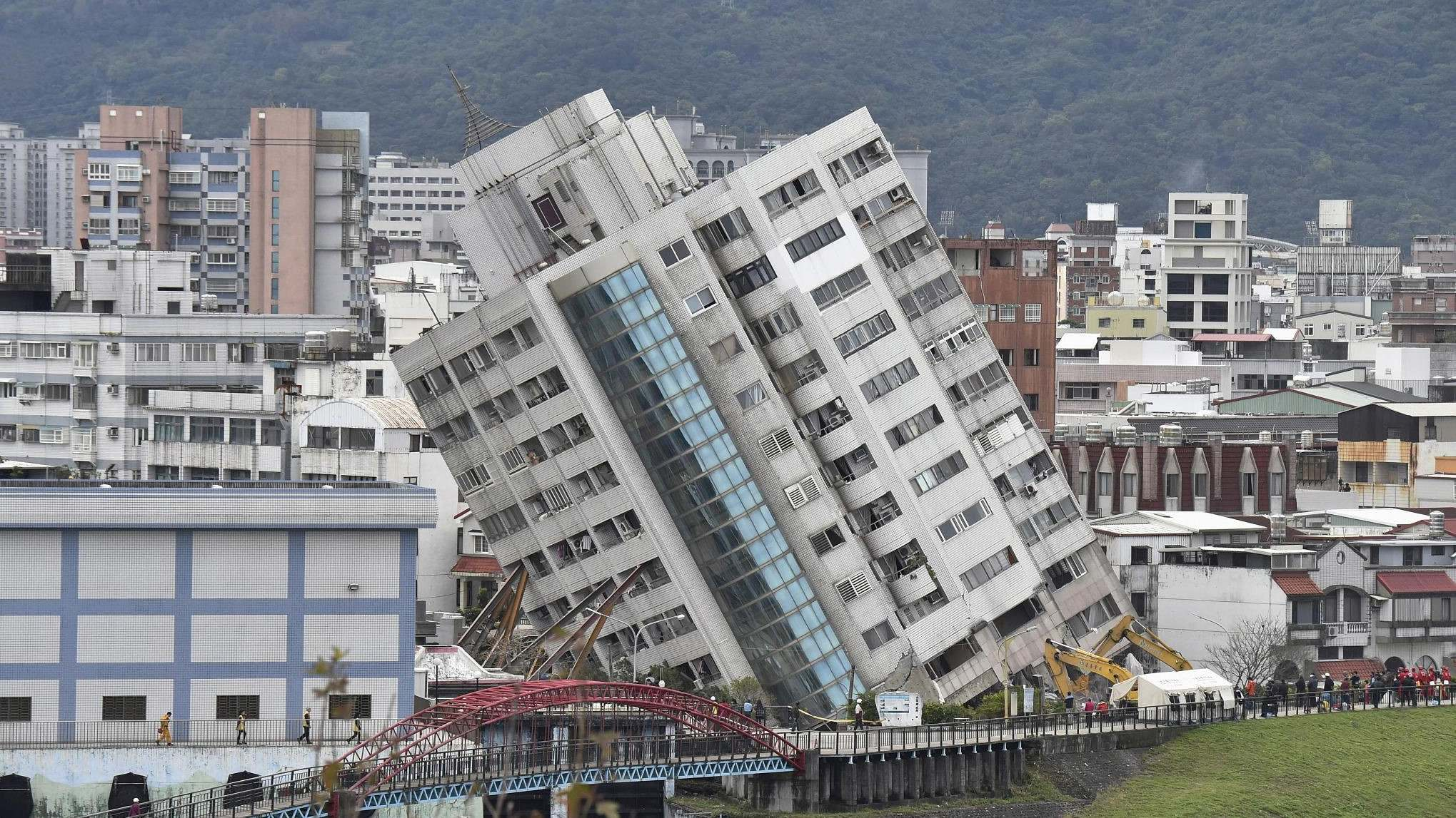 Taiwan ends search and rescue after M6.5 quake