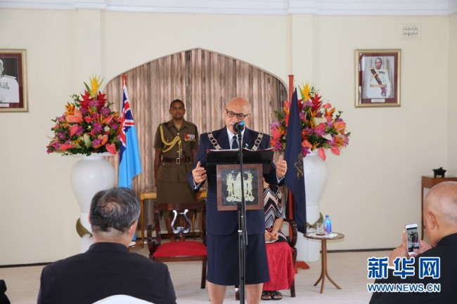 Fijian president extends Chinese New Year greetings