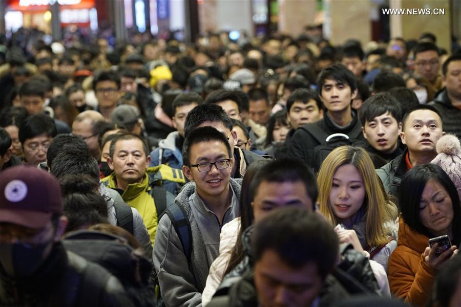 Fewer trips made during start of Spring Festival travel rush: ministry