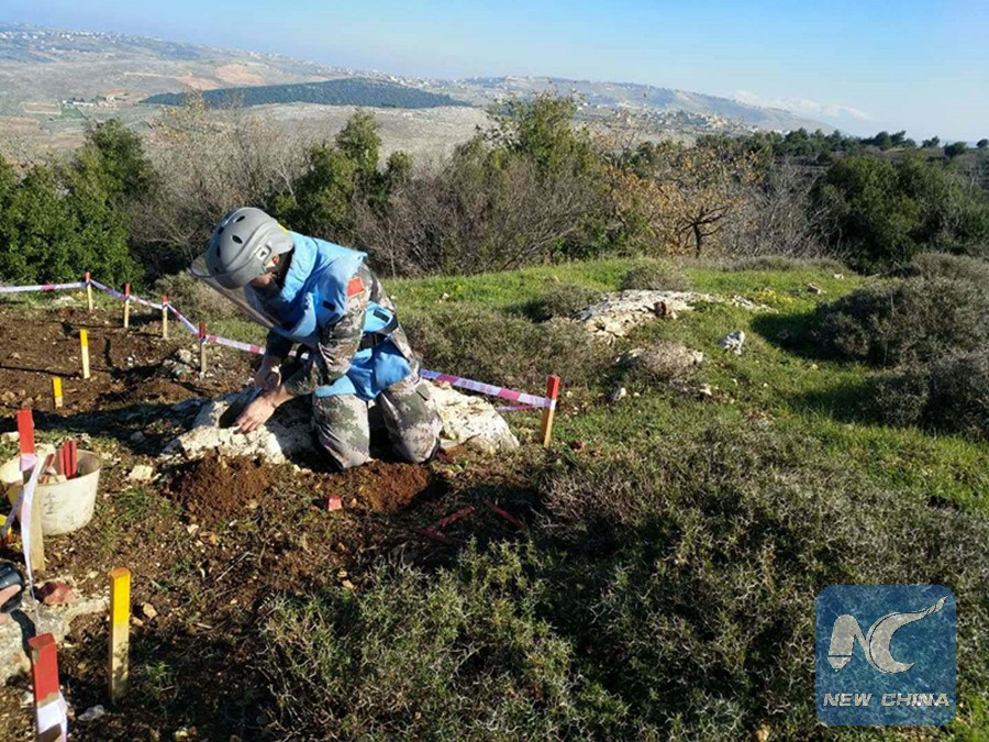 Far away from home, Chinese peacekeepers in Lebanon risk their lives for peace