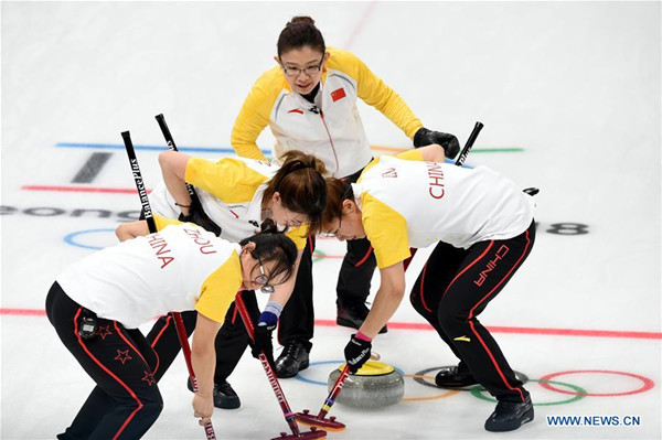 China edges Canada in PyeongChang Games women's curling