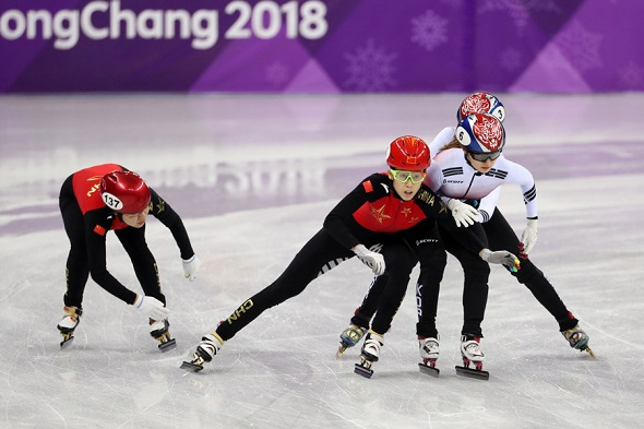 Speed skating legend Yang says judging is not biased