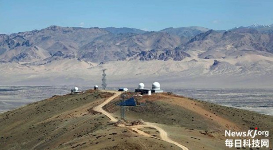 China has almost completed the world's highest observatory in Tibet Autonomous Region's Ngari prefecture. The observatory is designed to detect primordial gravitational waves. (File Photo/newskj.org)