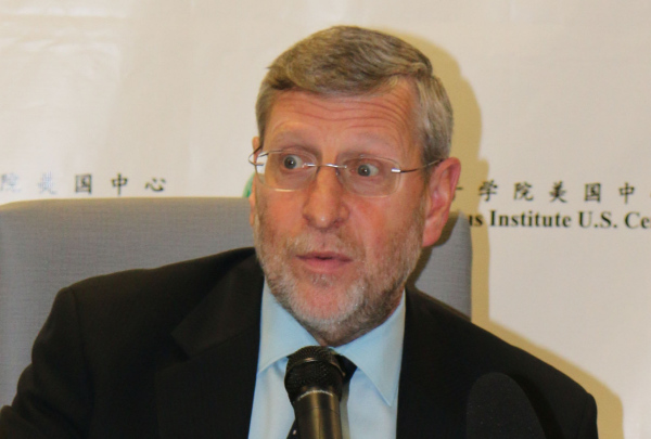 David Dollar, a senior fellow at the John L. Thornton China Center at the Brookings Institution