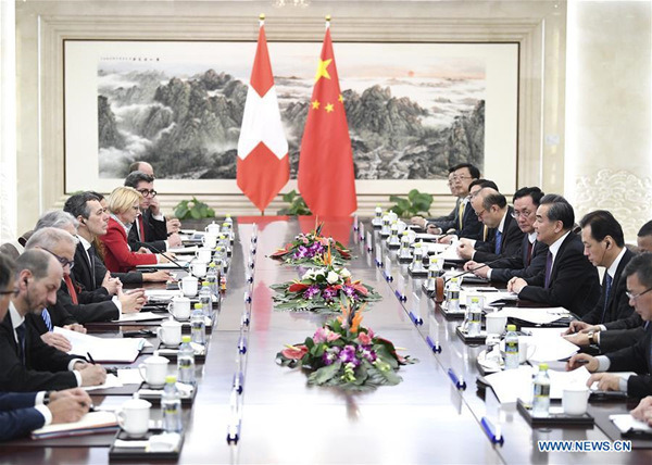 China, Switzerland vow to further innovative strategic partnership