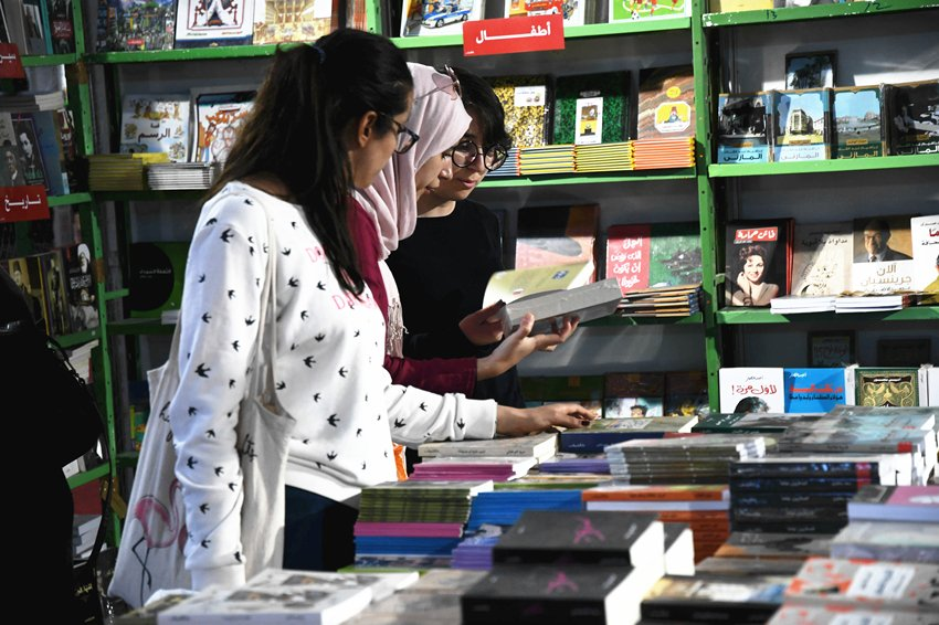 Chinese books welcomed at Tunis International Book Fair