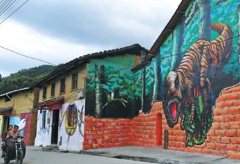 艺术家涌入这个村庄