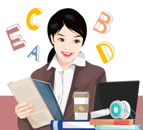 根据教育部和国家语言事务委员会的统计,中国首个英语水平标准将于6月1日实施。 (图片/新华社)