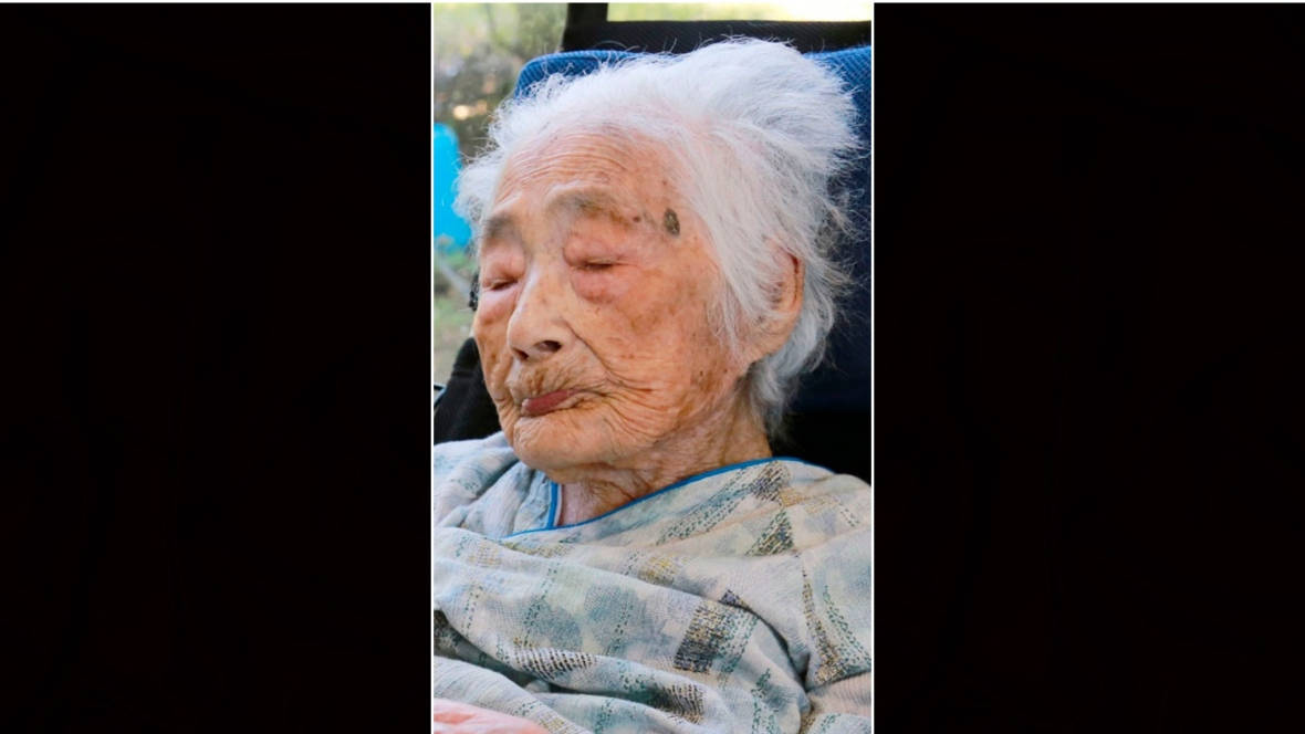 Woman believed to be world's oldest person dies at 117 in Japan