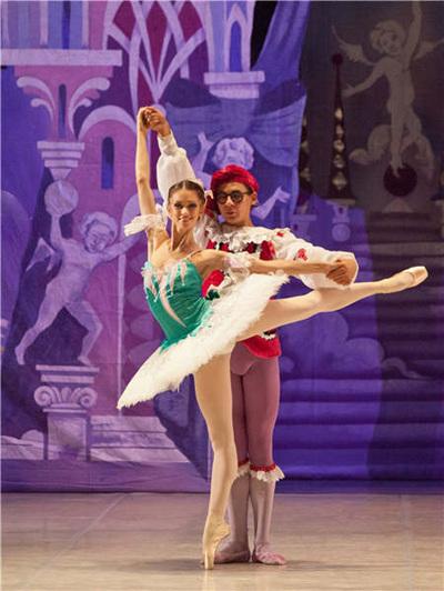 俄罗斯国家芭蕾舞团带来经典表演