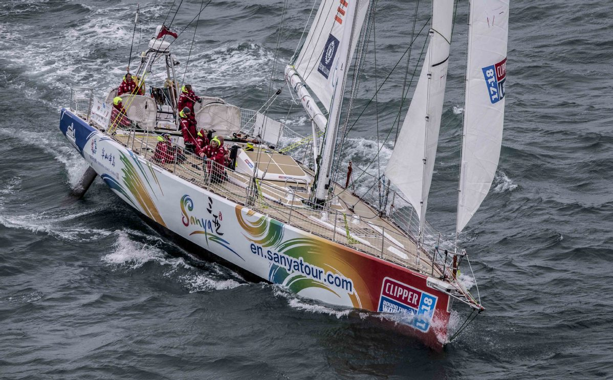 Chinese teams lead into penultimate leg of Clipper Race